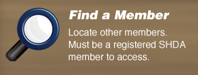 Find other SHDA members through our online directory