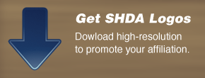 Download hi-resolution SHDA logos